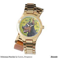 Doberman Pinscher Watches