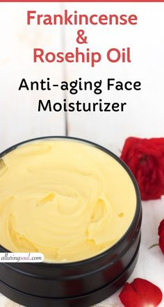 This rosehip and frankincense oil face cream is really a problem solver. This all-natural face cream is very effective in reducing wrinkles, dark spots and heals dry skin. Natural Face Cream, Natural Skin Care, Natural Beauty, Anti Aging Cream, Anti Aging Skin Care, Glam Glow, Frankincense Oil, Diy Skin Care, Cleanser