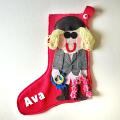 Personalized Christmas #Stockings as unique as you are!  Start a new family tradition and memory this year with personalized Christmas character stockings.  Every stocking i... #trending #xmasgiftidea #xmasstocking #ohwhatfun #stockings
