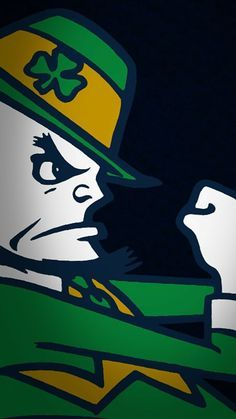 Notre Dame wallpaper for your Android/iPhone. College Football Logos, Nd Football, Notre Dame Football, Football Memes, Go Irish, Irish Pride, Notre Dame Shoes, Notre Dame Wallpaper, Notre Dame Athletics