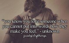 Du machst mich sprachlos... Meine Gefühle für dich - einfach unerklärlich ❤