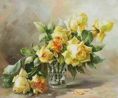 Великолепные розы в творчестве художников - Ярмарка Мастеров - ручная работа, handmade