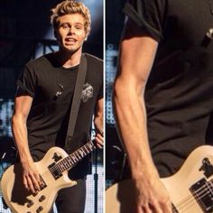 WE ALWAYS TALK ABOUT CALUM'S AND ASHTON ARMS AND STUFF... CAN WE TALK ABOUT LUKE PLEASE!?!?1