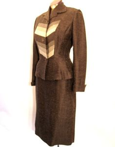vintage lilli ann suit - drastically reduced