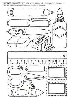 objects for backpack grade 4 fsl Preschool Curriculum, Preschool Worksheets, Preschool Activities, School Items, I School, Teaching French, Teaching English, Back To School Worksheets, Drawing School