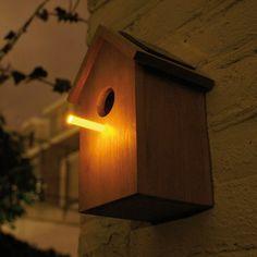 tuinverlichting nestkastje