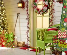 Front Porch Christmas Decorating Ideas | Cool DIY Decorating Ideas For Christmas Front Porch_41