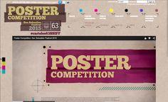 http://www.sansebastianfestival.com/postercontest/index.php - Concurso de posters para anunciar um festival de cinema espanhol - San Sebastian Festival