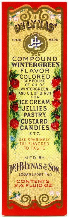 Image detail for -or perfume label, I had this stored with the vintage beauty labels . Vintage Advertisements, Vintage Ads, Vintage Images, Vintage Stuff, Vintage Food Labels, Vintage Recipes, Money Tin, Strawberry Crush, Wintergreen Oil