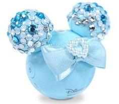 Blue sparkly Minnie