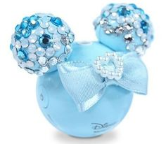 Blue sparkly Minnie