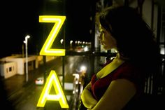 neon sign motel, Byzantium