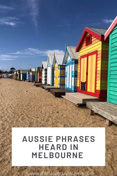 When in Melbourne, you'll hear Aussie phrases and Aussie sayings and you won't have a clue what any of them mean. Read this post to clue yourself up on some of the lingo, especially the long Aussie drinks lingo list, to help you get by in Melbourne with Australian slang words. Learn how to greet in Aussie-style, what drinks to order in Melbourne and what phrases mean in Australia!  Repin to your Oz boards or culture boards!  #AussieSlang #PhrasesInMelbourne #OzSayings #AussieWords Australian Quotes, Australian Slang, Travel Goals, Travel Advice, Travel Around The World, Around The Worlds, Melbourne Restaurants, Working Holidays, Work Abroad