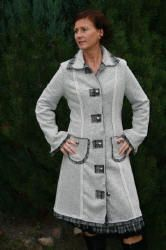 "sewing pattern coat ""Johanna"