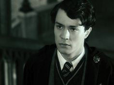 Christian Coulson as Tom Marvolo Riddle in Harry Potter and the Chamber of Secrets.