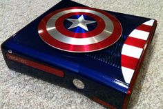 Fã cria case mod do Capitão América para Xbox 360