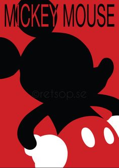 Mickey Mouse affisch