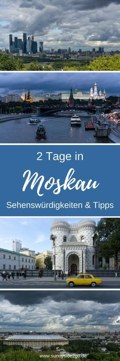 2 Tage in Moskau - Tipps und Sehenswürdigkeiten für die Hauptstadt Russlands Places To Travel, Travel Destinations, Places To Visit, Travel Europe, Travel Around The World, Around The Worlds, Reisen In Europa, Travel Companies, City Life