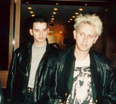 Davea Gahan & Martin Gore of Depeche Mode