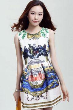 Rustic Romance Jacqaured Dress