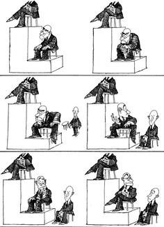 Quino - Potentes, prepotentes e impotentes (Powerful, Arrogant and Impotent) Best Funny Pictures, Funny Images, Satirical Illustrations, Humor Grafico, Cartoon Games, Geek Humor, Just Smile, Political Cartoons, Funny Comics