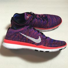 Nike Free 5.0 TR Flyknit Women's multi- purpose training shoes with flexible 5.0 bottom and lightweight Flyknit upper. New with original box. ♦️No trades, the price is firm unless bundled. Nike Shoes Athletic Shoes
