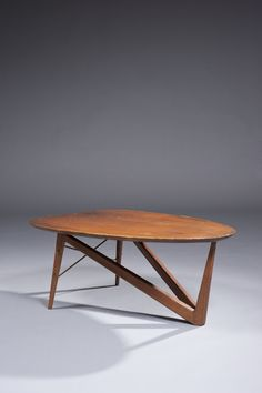 Mid Century Adrian Pearsall Kidney Shaped Coffee Table Salon Designs Pinterest Adrian Pearsall Mid Century And Tables