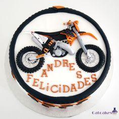 Motorbike cakeTemáticas - Catcakes