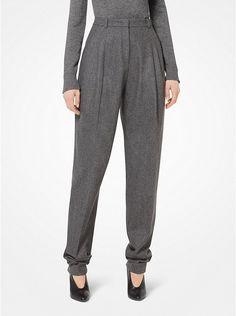 Pantalón con raya de franela
