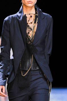 Nina Ricci at Paris Fashion Week Spring 2013 - Livingly Pretty Outfits, Beautiful Outfits, Beautiful Clothes, Divas, Blue Fashion, Womens Fashion, Color Fashion, Fashion Details, Fashion Fashion