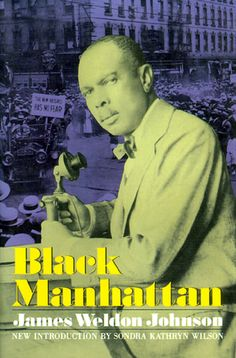 """Classic Harlem Renaissance book """"Black Manhattan"""" by James Weldon Johnson from article The Approaching Anniversary of the Harlem Renaissance by Aberjhani. African American Inventors, African American History, James Weldon Johnson, Harlem Renaissance, The Secret History, Reading Material, Classic Books, Black History, Manhattan"""