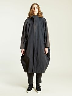 Issey Miyake Men's Kimono Sleeve Coat