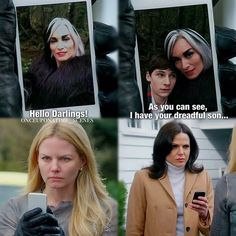 Emma's and Regina's reactions...I can't... XD