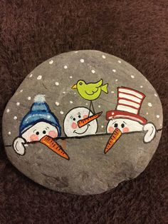 Teds Woodworking® - Woodworking Plans & Projects With Videos - Custom Ca. - Teds Woodworking® – Woodworking Plans & Projects With Videos – Custom Carpentry – St - Pebble Painting, Pebble Art, Stone Painting, Stone Crafts, Rock Crafts, Arts And Crafts, Rock Painting Ideas Easy, Rock Painting Designs, Snowman Crafts