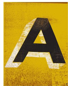 methane studios . letter A