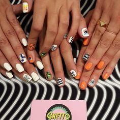 Kenzo nail party!!! @kenzo @e_k_s_madrid