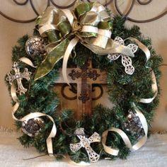 diy+christmas+wreaths | Old World Christmas Wreath - DIY | Old Fashion Christmas