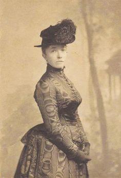 Isabella Stewart Gardner, 1888, foremost female patron of the arts and Boston philanthropist.