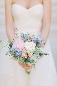 34 Summer Wedding Bouquets | HappyWedd.com