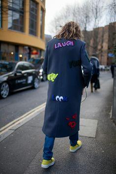 954173214eea London Fashion Week street style.  Photo by Kuba Dabrowski  Le Look