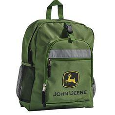 Boys Green John Deere Backpack | WeGotGreen.com
