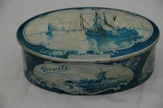 Oud blik Droste--I have this tin!  And, it IS gorgeous!