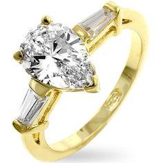 Gold Duma Engagement Ring