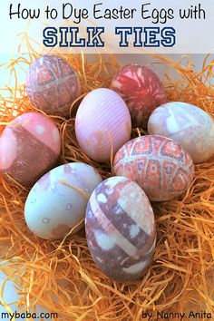 How to dye an easter egg with a silk tie Things To Do Inside, Fun Things, Crafts To Do, Arts And Crafts, Easter Egg Dye, Educational Activities, After School, Easter Crafts, Silk Ties