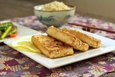Your New Go-To Meal: Sesame-Crusted Tofu