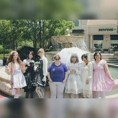 Lovely turnout our #lolita meet up today! :D Thanks everyone for coming! . . . . . #love #instagood #smile #follow #cute #girl #photooftheday #followme #style #beautiful #like4like #happy #picoftheday #instadaily #amazing #fashion #igers #fun #instalike #bestoftheday #bearears #meetup #paperxcute #paperxcutedolls #kawaii #gothic #asian #catears #headband