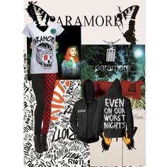 """""""Paramore"""" by rdp2097 on  So love this shirt!!!"""