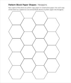 Healthy living catalog by amerimark catalog phone number free code number Pattern Block Templates, Pattern Blocks, Quilt Square Patterns, Hexagon Pattern, Geometry Pattern, House Template, Event Template, Math Patterns, Wooden Pattern