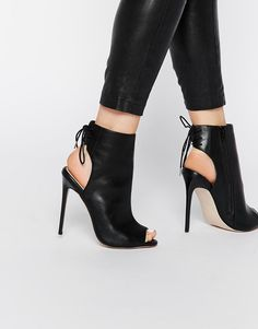 ASOS Peep Toe Shoe Boots, $81; at ASOS
