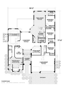 Ranch House Open Floor Plans Bdr on 3 bed ranch house plans, gazebo ranch house plans, brick ranch house plans,